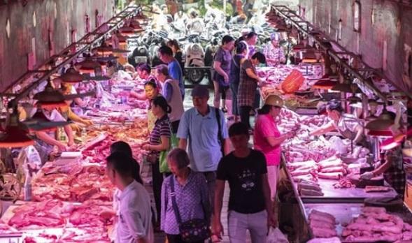Mercado de produtos na China