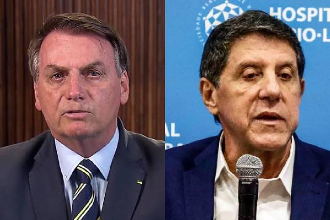 Jair Bolsonaro e David Uip
