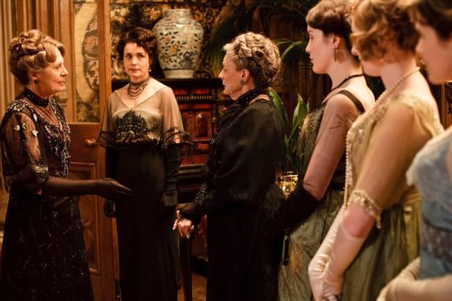 Cena do seriado britânico 'Downton Abbey'