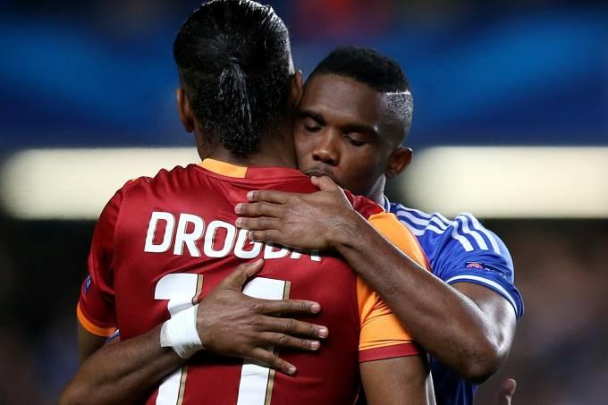 Didier Drogba e Samuel Eto'o
