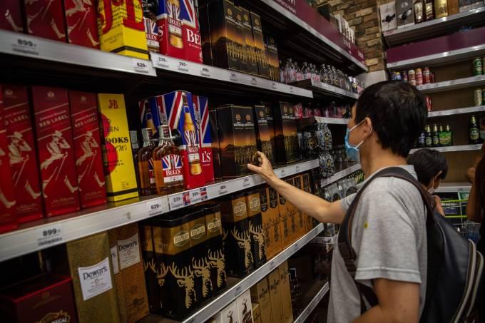 Consumo de bebidas alcoólicas na quarentena