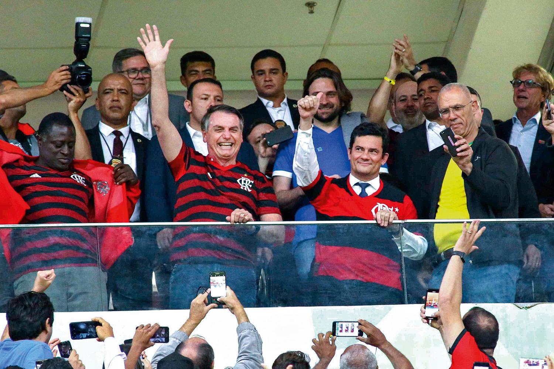 """RECADO - Moro, em relação a Bolsonaro: """"Ele sabe quem está falando a verdade"""""""