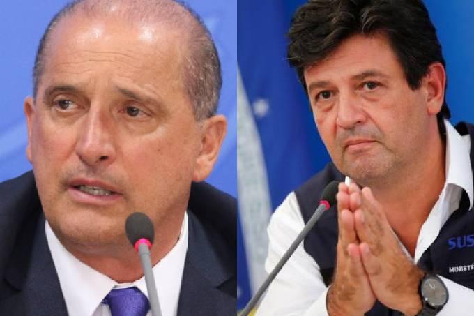 Onyx Lorenzoni e Luiz Henrique Mandetta