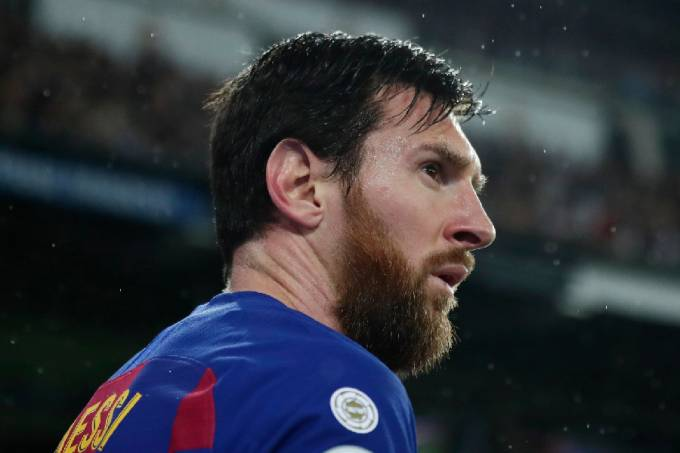 Lionel Messi, do Barcelona