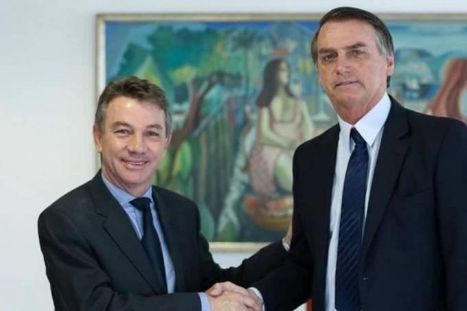 Antonio Denarium e Jair Bolsonaro
