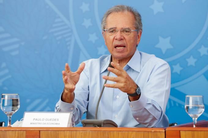 03/04/2020 Coletiva de imprensa dom o Ministro da Cidadania, Ony
