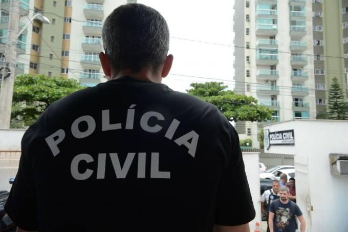 Equipes da Polícia Civil
