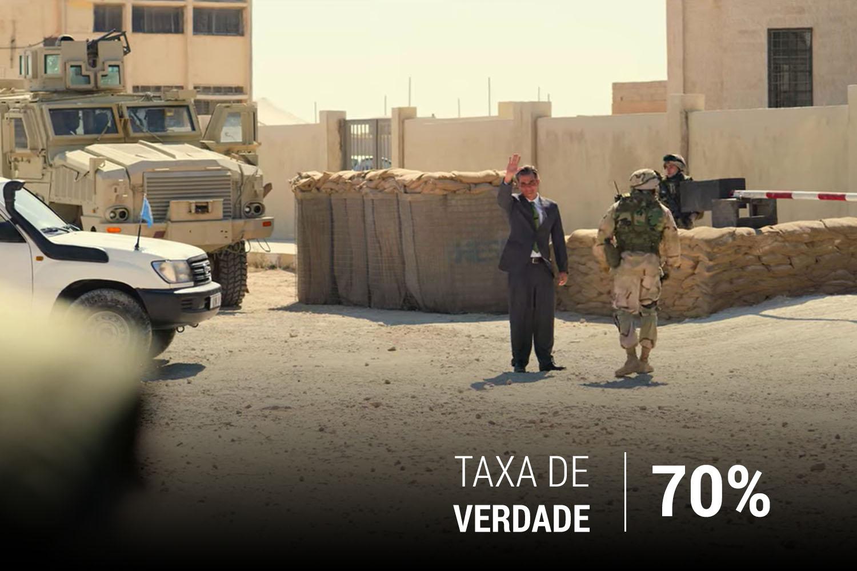 O diplomata pediu para que as forças de segurança norte-americanas fossem removidas dos arredores do Hotel Canal