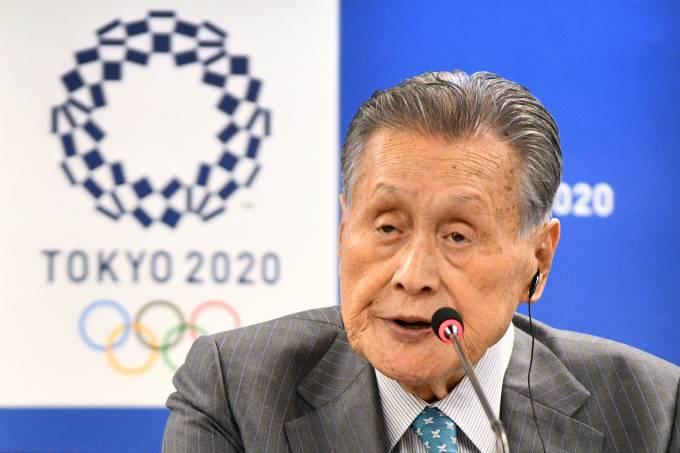 Yoshiro Mori Comitê Organizador dos Jogos Olímpicos de Tóquio-2020