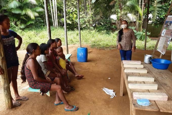 Mulheres indígenas em São Gabriel