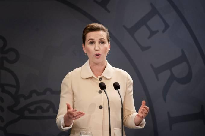 Primeira-ministra da Dinamarca, Mette Frederiksen