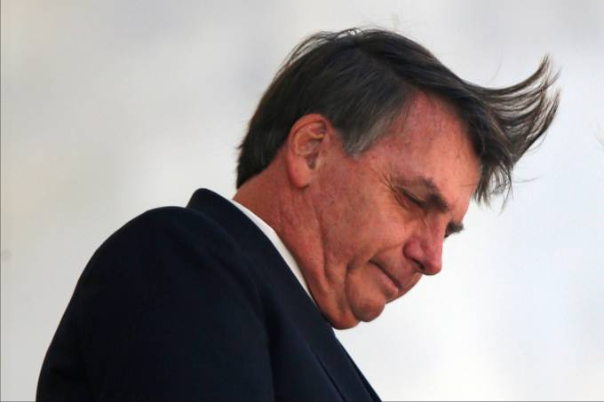 Presidente Jair Bolsonaro no Palácio do Planalto