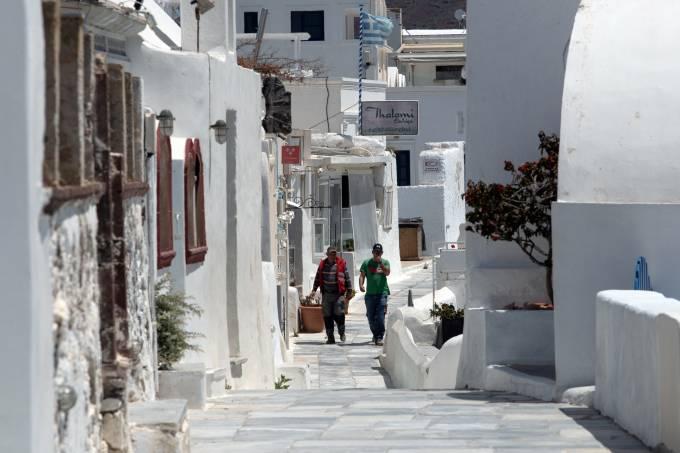 Coronavírus Grécia