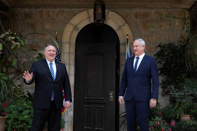 Mike Pompeo Israel Palestina