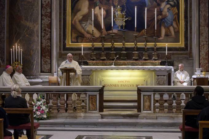 Birth centenary of the late Pope Saint John Paul II, at the Vatican