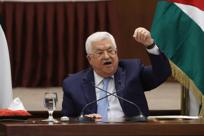 Presidente Palestino Mahmoud Abbas