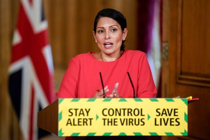 Coronavírus Reino Unido