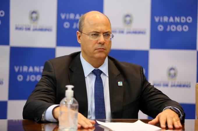 O governador do Rio de Janeiro, Wilson Witzel