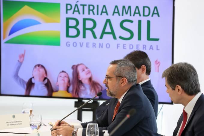 Abraham Weintraub-ministro da educacao-22/04/2020 Reunião com Vice-Presidente da República, Ministros