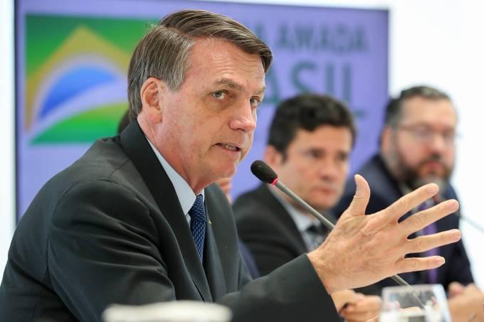 22/04/2020 Reunião com Vice-Presidente da República, Ministros