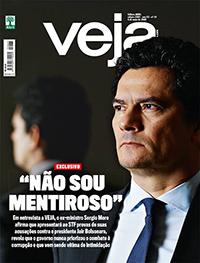 Revista veja capa