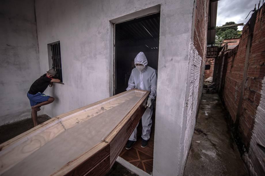 O SOS Funeral é um serviço 24 horas que atende todo o município de Manaus