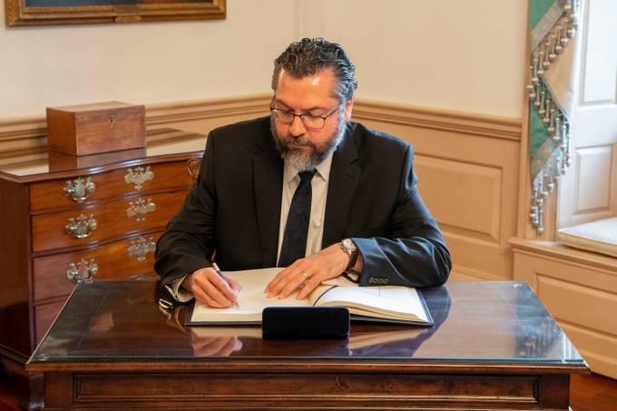 Ernesto Araújo, o ministro das Relações Exteriores –