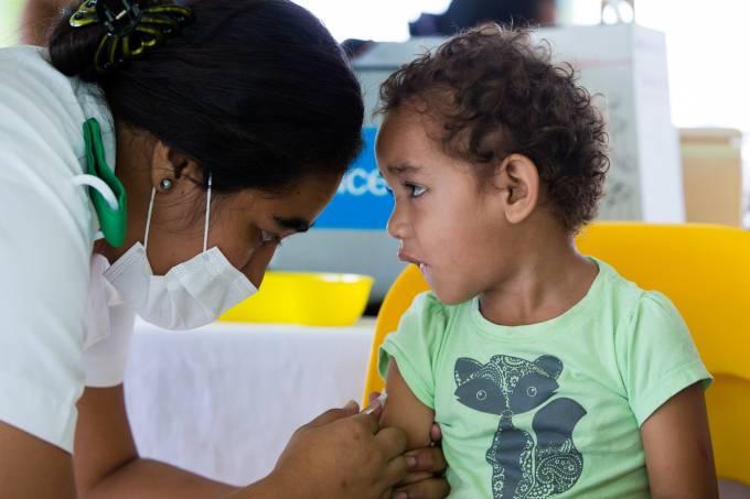 Unicef Vacinação Samoa Sarampo