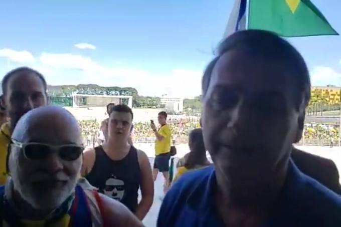 Bolsonaro e Junio Amaral