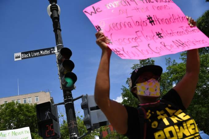 George Floyd Protestos Black Lives Matter Washington