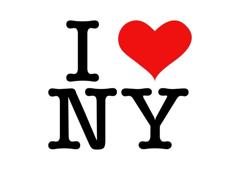 Logotivo 'I Love NY' criado por Milton Glaser