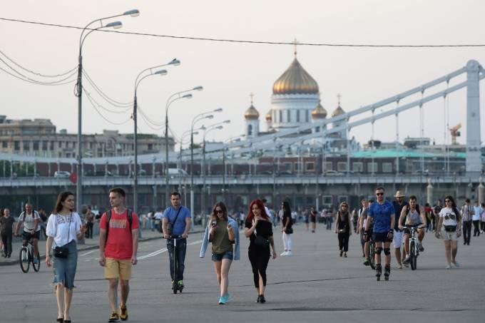 Rússia Coronavírus Moscou