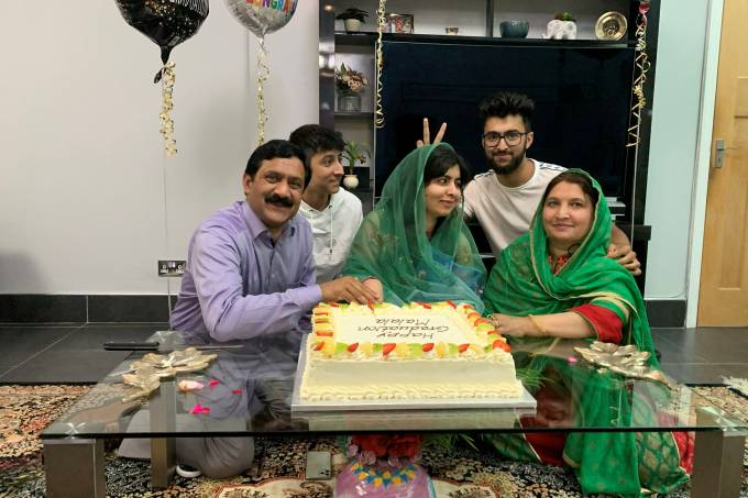 Activist Malala Yousafzai celebrates completing her PPE Oxford degree