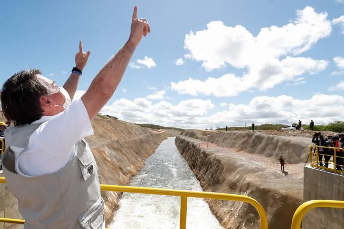 26/06/2020 Chegada das águas do Rio São Francisco ao Ceará