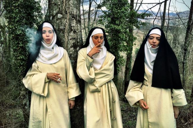 Alessandra, Fernanda e Ginevre, as freiras nada convencionais da Netflix