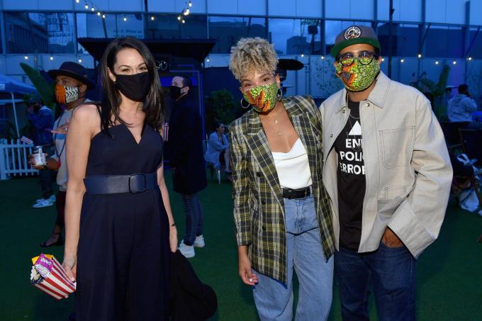 Os convidados foram obrigados a usarem máscaras e terem suas temperaturas medidas