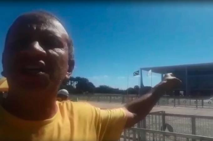 Renan Sena, militante bolsonarista preso por ofender o Congresso e o STF