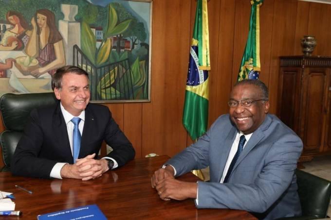 Carlos Alberto Decotelli da Silva e Jair Bolsonaro