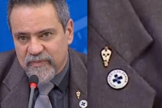 Coronel Elcio Franco Filho, secretário-executivo do Ministério da Saúde