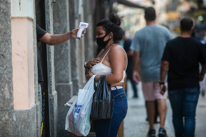 First Monday of Quarantine Relaxing in the City of Rio de Janeiro Amidst Soaring Numbers of Infected People During the Coronavirus (COVID – 19) Pandemic