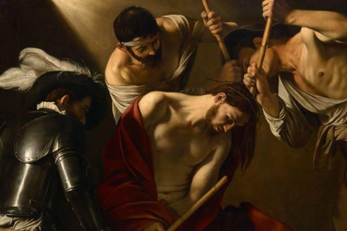 The Crowning with Thorns (A Coroação de Espinhos) – Caravaggio