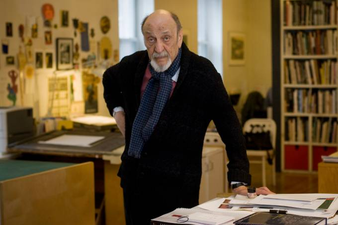 USA – Graphic Designer Milton Glaser