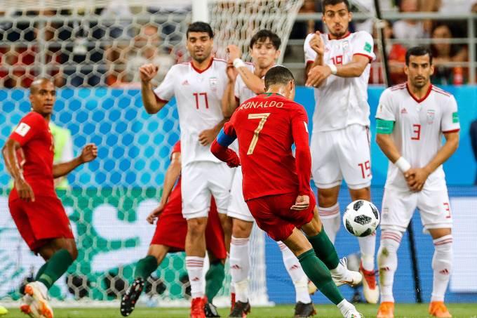Cristiano Ronaldo Portugal Copa do Mundo 2018 Falta