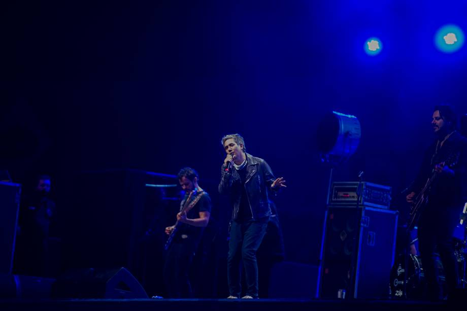 """Show da banda Jota Quest em estilo """"drive-in"""" realizado no Estádio Allianz Parque, em São Paulo"""