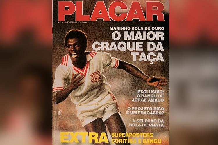 Capa da revista Placar, edição 794, 09 de agosto de 1985.