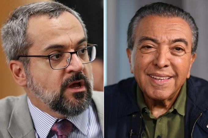 Weintraub e Mauricio de Sousa