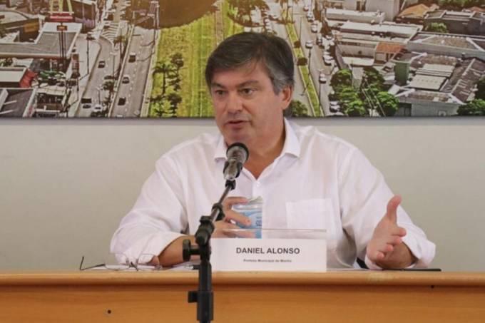 Prefeito de Marília, Daniel Alonso (PSDB)