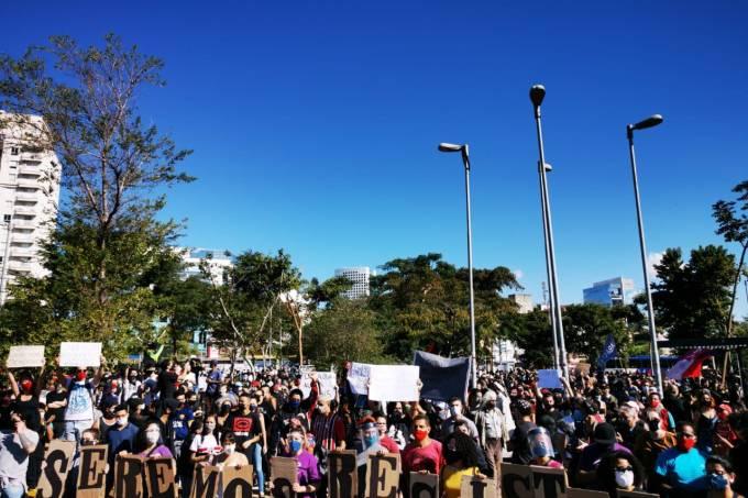 Largo da Batata Protesto