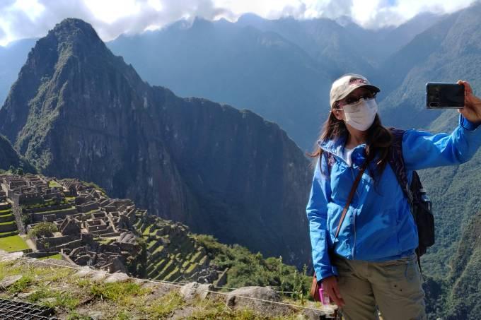 FILES-PERU-HEALTH-VIRUS-MACHU PICCHU-ANNIVERSARY