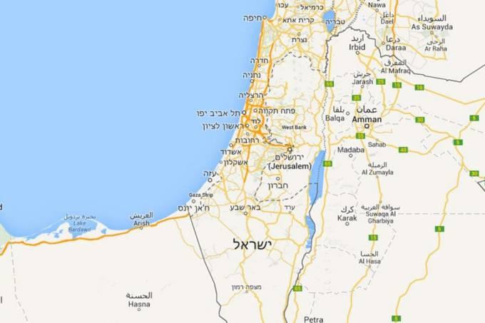 Israel Google Maps